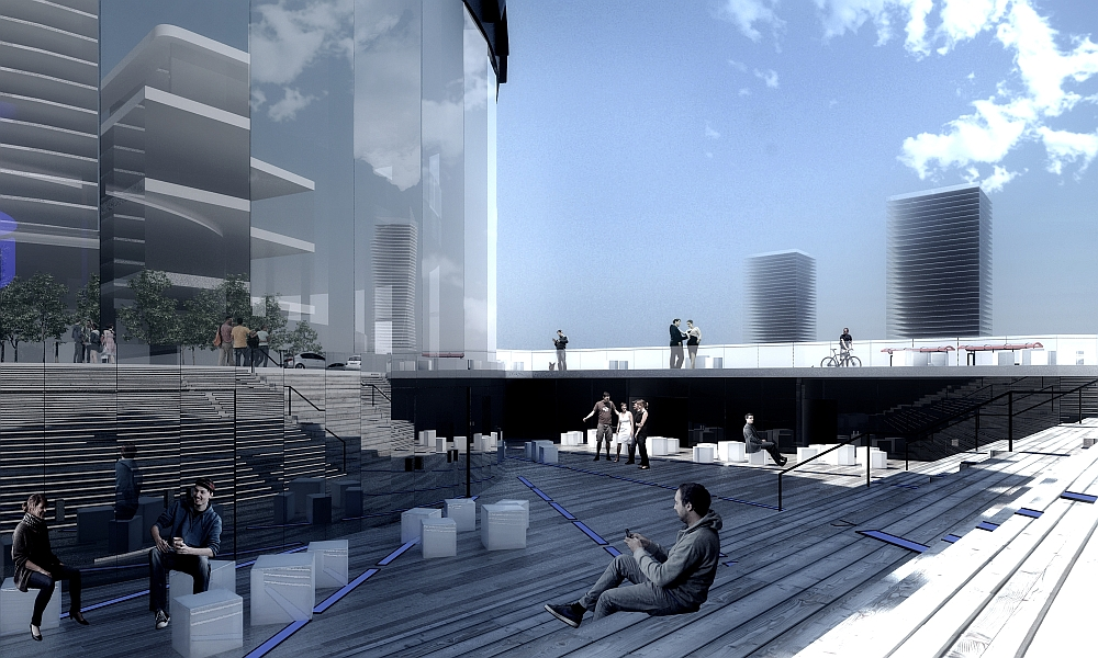 changing the face, rotunda, warsaw, competition, poland, visualizations