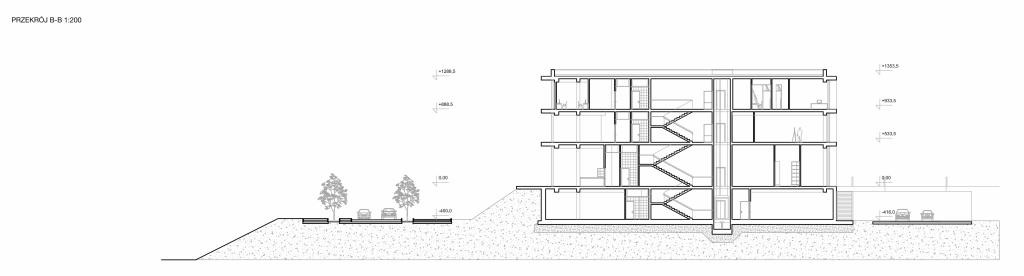 Architecture faculty building - project ,design, interior, architectural concept, plan