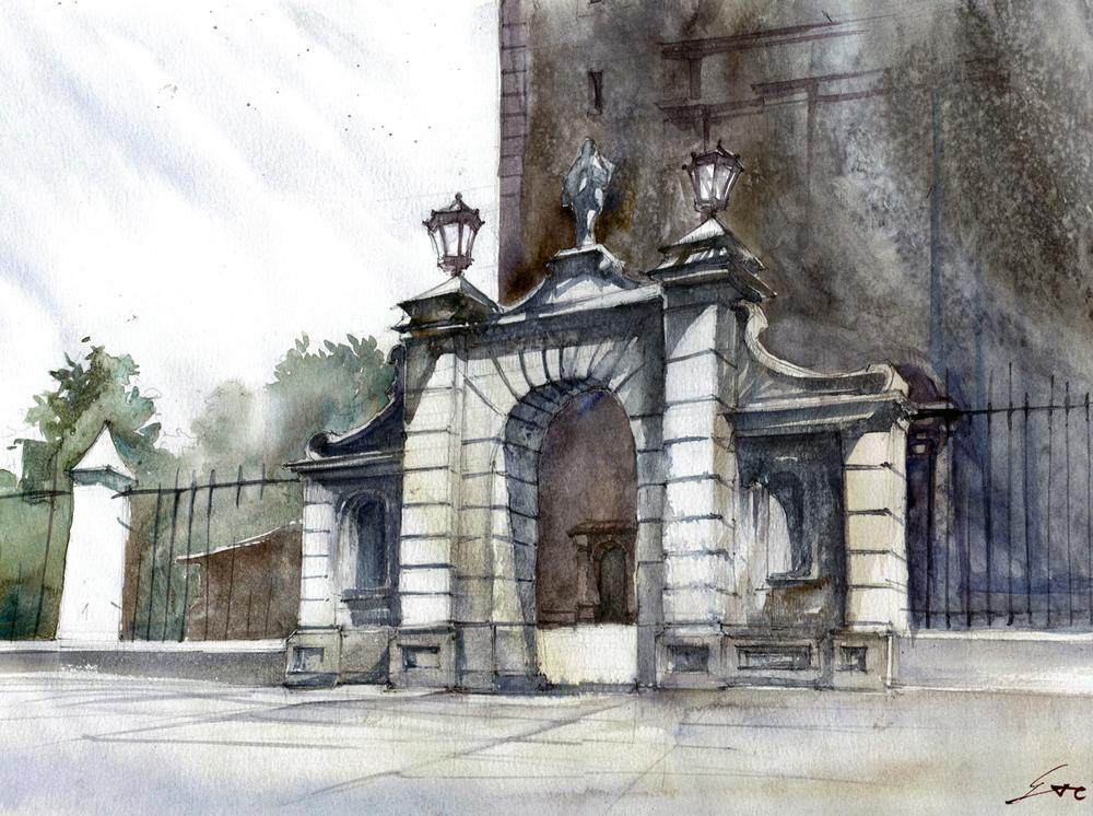09 Brama katedralna