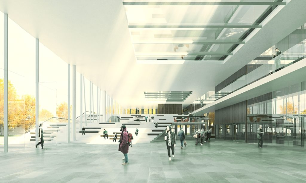 Med Campus Linz Interior Visualization