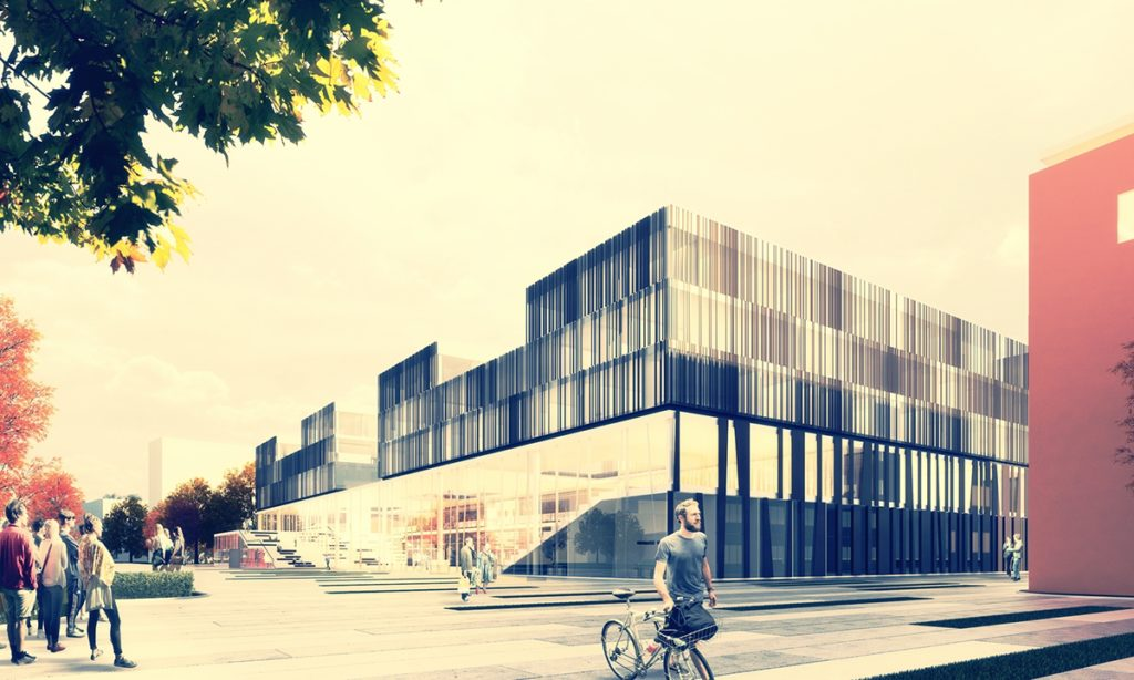Med Campus Linz Exterior Visualization