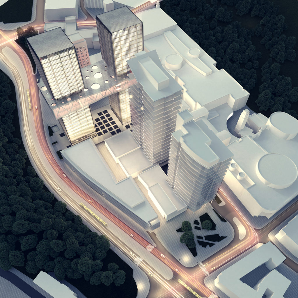 Skyscraper in Poznan Exterior Visualization